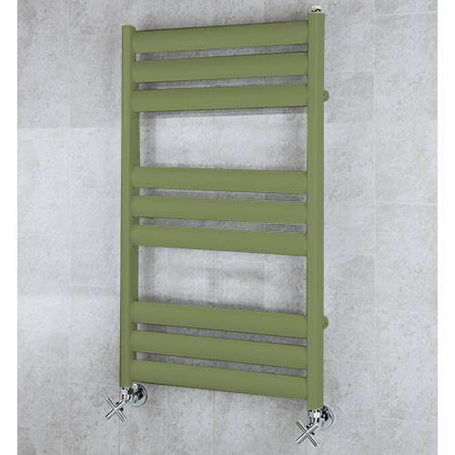 Additional image for Heated Ladder Rail & Wall Brackets 780x500 (Reed Green).