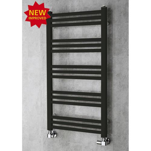 Additional image for Heated Ladder Rail & Wall Brackets 964x500 (Signal Black).