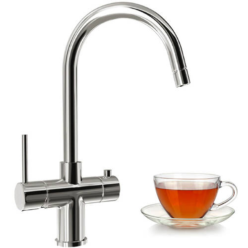 Additional image for Seraphina 3-In-1 Boiling Water Kitchen Tap (Chrome)