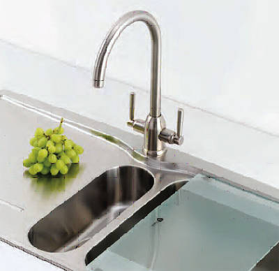 Additional image for Dante Filter Kitchen Tap (Brushed Nickel).