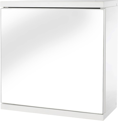 Additional image for Mirror Bathroom Cabinet.  350x300x140mm.