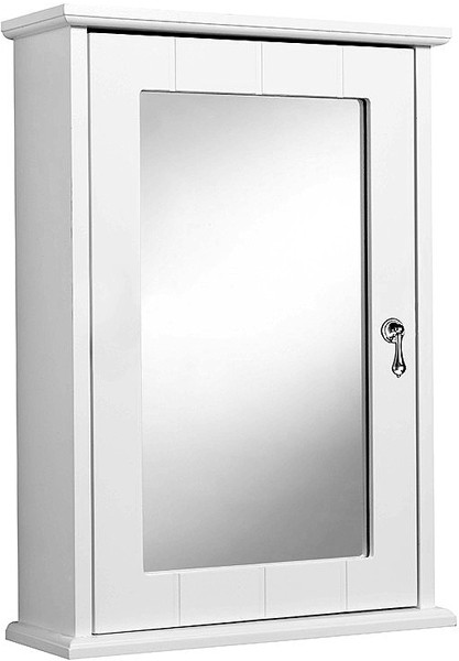 Additional image for Ribble Mirror Bathroom Cabinet.  370x520x130mm.