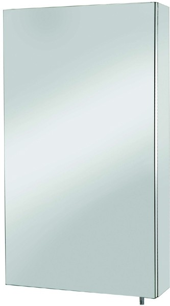 Additional image for Anton Mirror Bathroom Cabinet.  300x550x120mm.