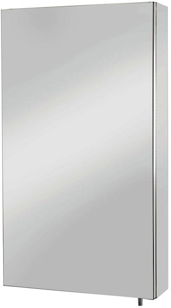 Additional image for Colorado Mirror Bathroom Cabinet. 380x670x120mm.