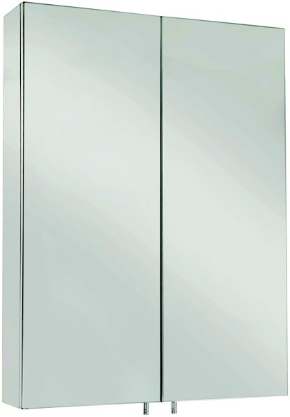 Additional image for Anton Mirror Bathroom Cabinet.  500x670x120mm.