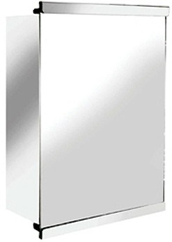 Additional image for Tara Mirror Bathroom Cabinet With Sliding Door. 350x500.