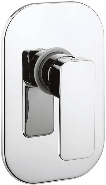 Additional image for Manual Shower Valve With Lever Handle (Chrome).