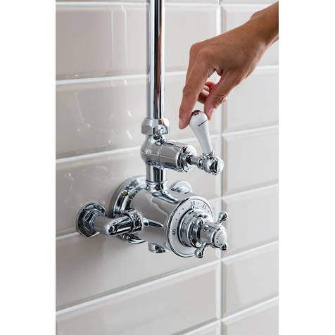 Additional image for Thermostatic 1 Outlet Shower Kit (Chrome).