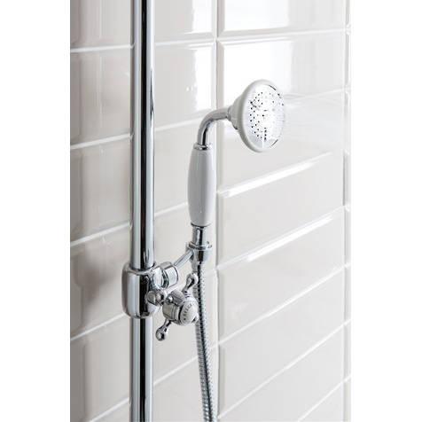 Additional image for Thermostatic 2 Outlet Slider Shower Kit (Chrome).