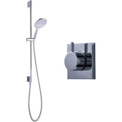 Additional image for Digital Shower With Slide Rail Kit (HP).