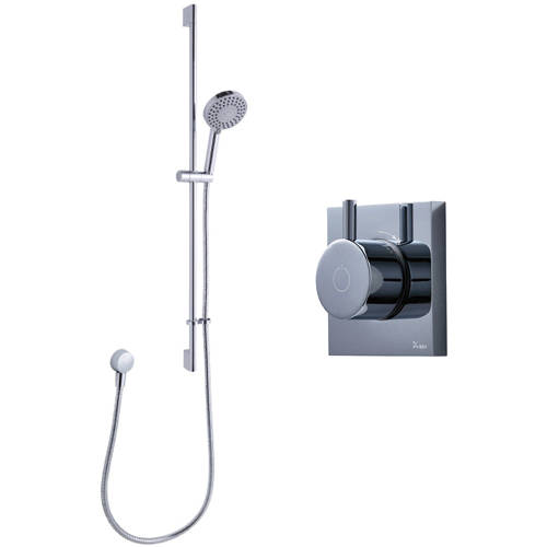 Additional image for Digital Shower With Slide Rail Kit (LP).