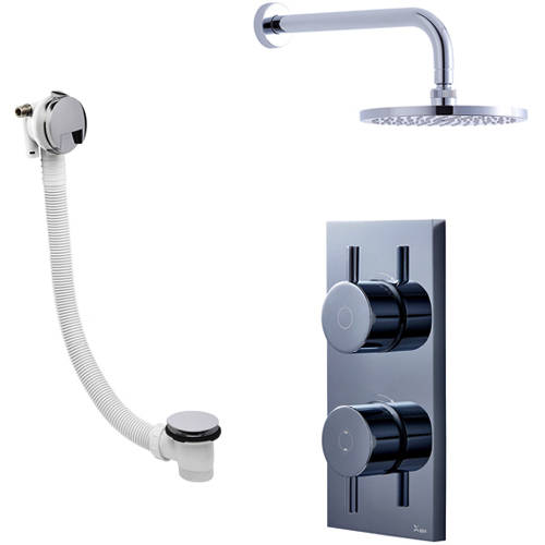 Additional image for Digital Shower With Head & Bath Filler (LP)
