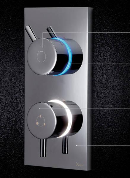 Additional image for Digital Shower, Head & Slip Bath Spout (LP).