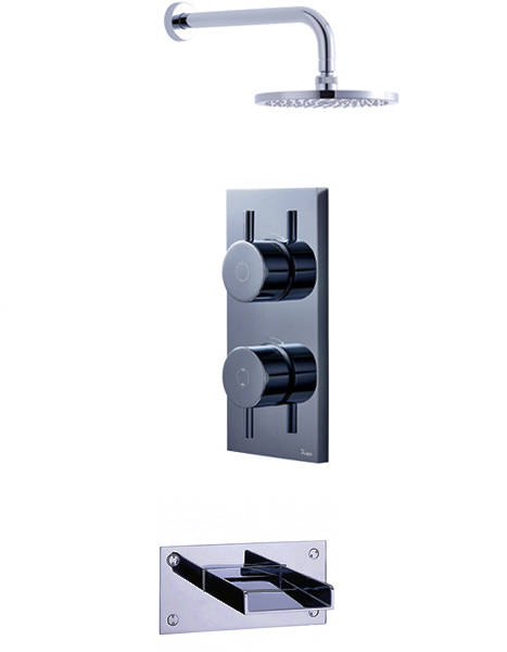 Additional image for Digital Shower, Head & Bath Spout (LP).