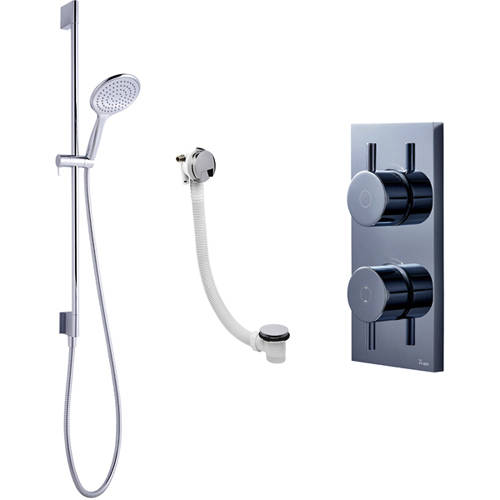 Additional image for Digital Shower With Bath Filler & Kit (HP)