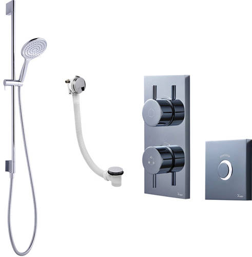 Additional image for Digital Shower Pack 08 With Remote (HP).