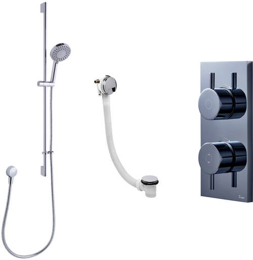 Additional image for Digital Shower, Slide Rail & Bath Filler (LP)