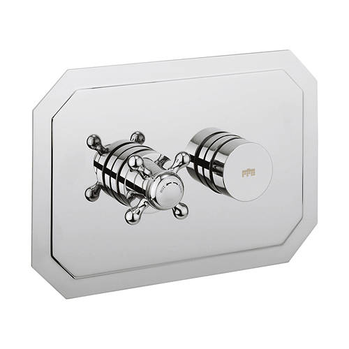 Additional image for Belgravia Push Button Thermostatic Shower Valve (1 Outlet).