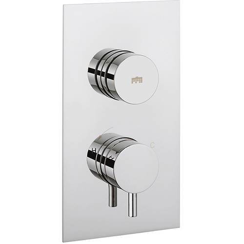 Additional image for Kai Push Button Thermostatic Shower Valve (1 Outlet).