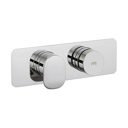 Additional image for Pier Push Button Thermostatic Shower Valve (1 Outlet).