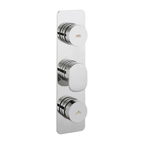 Additional image for Pier Push Button Thermostatic Shower Valve (2 Outlets).