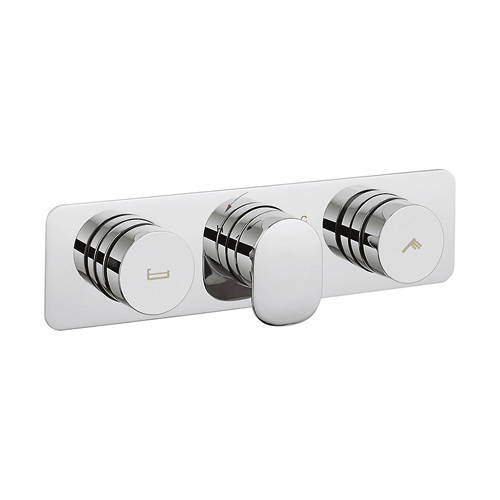 Additional image for Pier Thermostatic Shower & Bath Valve (2 Outlets).