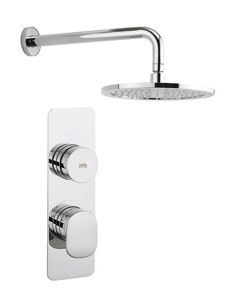Additional image for Pier Thermostatic Shower Valve With Head & Arm (1 Outlet).