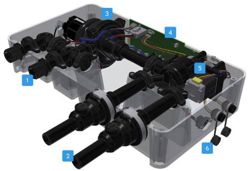 Additional image for Dual Outlet Digital Shower Valve (L-Head, LP).