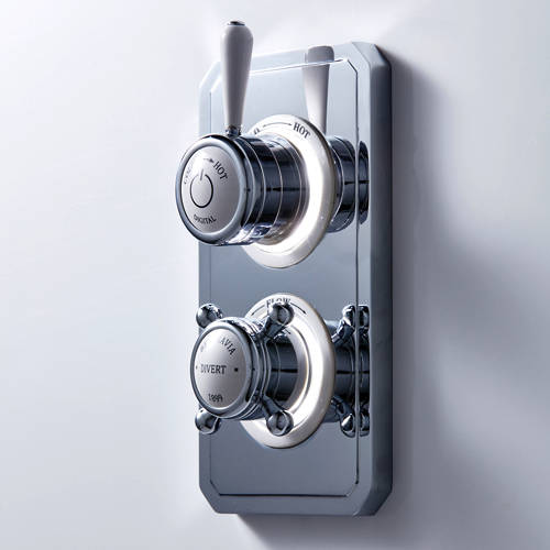 Additional image for Dual Digital Shower & Bath Valve (L-Head, LP).