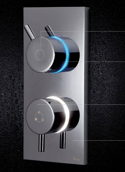 Additional image for Dual Outlet Digital Shower & Bath Valve (HP).