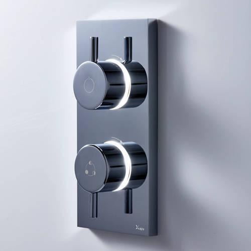 Additional image for Dual Outlet Digital Shower & Bath Valve (LP).