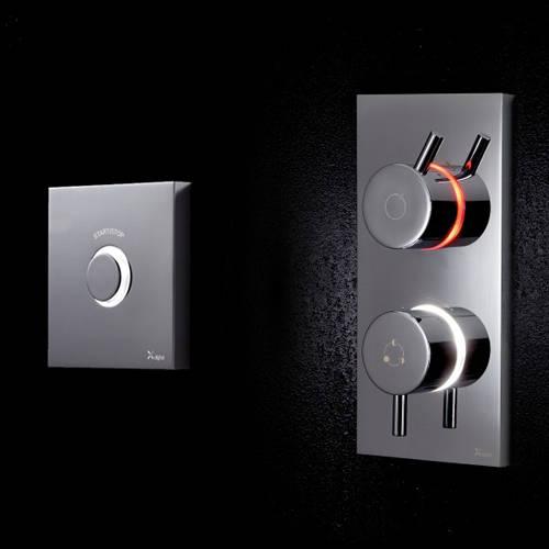 Additional image for Digital Shower & Bath Valve & Remote (LP).