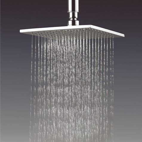 Additional image for Square Shower Head 200x200mm (Chrome).