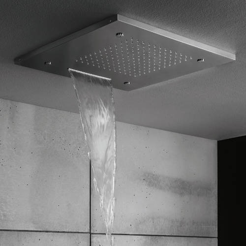 Additional image for Multifunction Shower Head With Waterfall 500x500mm.