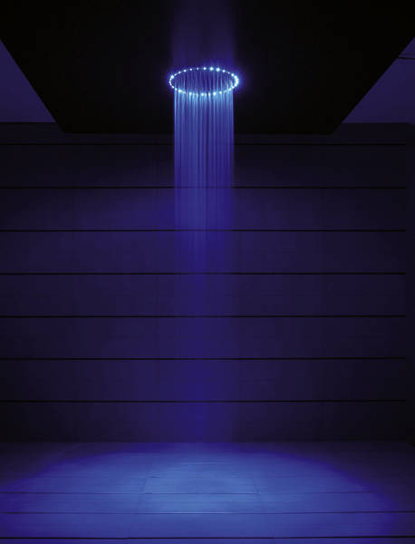 Additional image for Rio Blue LED Shower Head (240mm diameter).