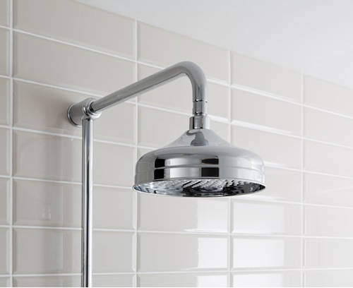 Additional image for Thermostatic 2 Outlet Shower Kit (Nickel).