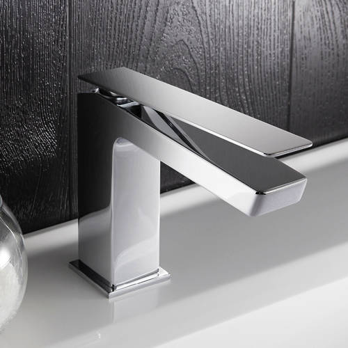 Additional image for Mono Basin Mixer Tap With Lever Handle (Chrome).