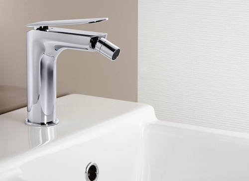 Additional image for Basin & Bidet Mixer Taps Pack With Lever Handles.