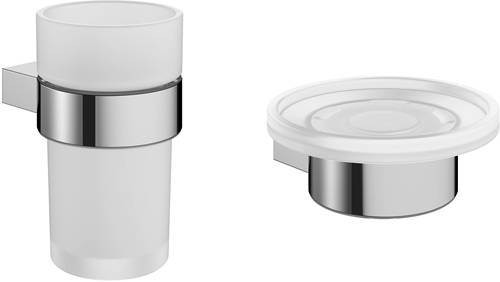 Additional image for Wall Mounted Bathroom Accessories Set (Pack A1).