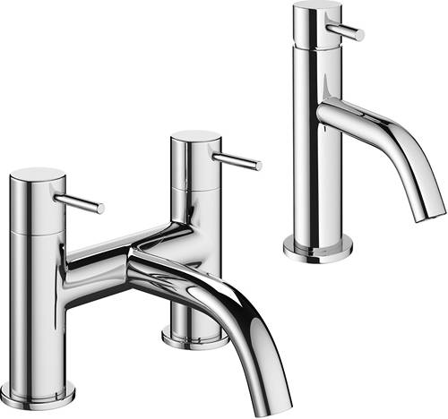 Additional image for Mono Basin Mixer & Bath Filler Tap Pack (Chrome).