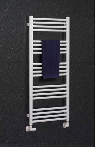 Additional image for Heated Towel Radiator 480x1140mm (M White).