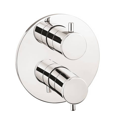 Additional image for Crossbox 2 Outlet Shower Valve (Chrome).