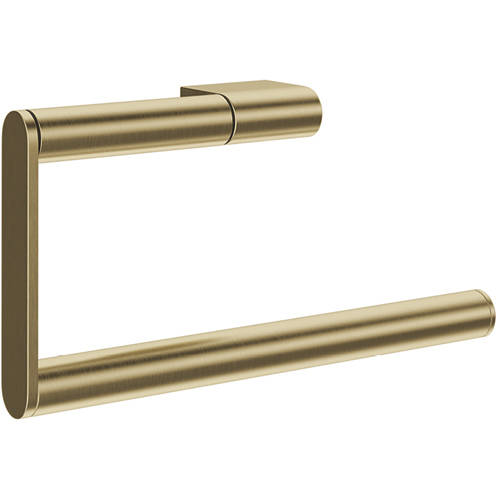 Additional image for Towel Ring (Brushed Brass).