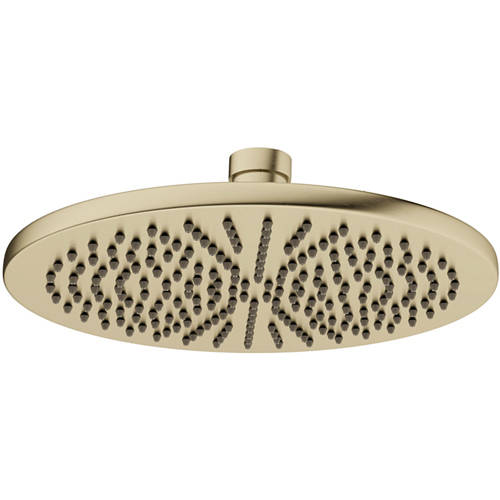 Additional image for Round Shower Head 300mm (Brushed Brass).