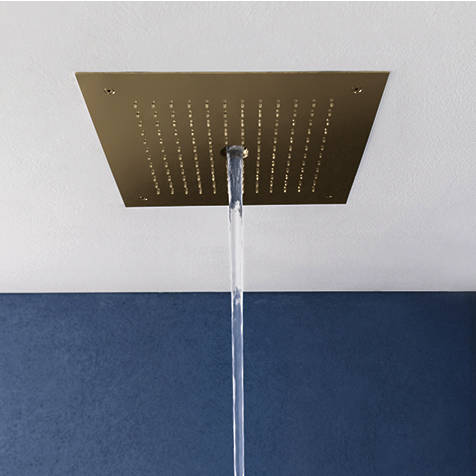 Additional image for Stream Shower Head (Brushed Brass).