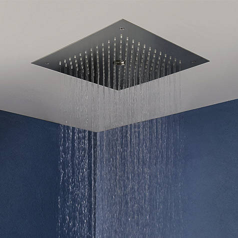 Additional image for Stream Shower Head (Brushed Stainless Steel).