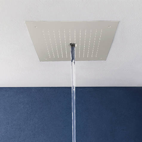 Additional image for Stream Shower Head (Matt White).