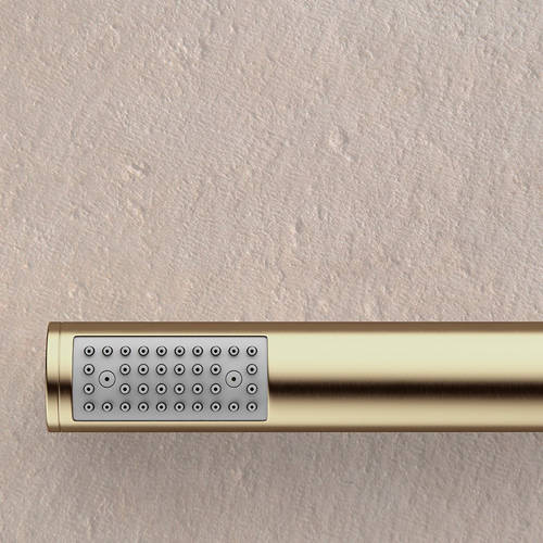 Additional image for Designer Shower Handset & Bracket Outlet (B Brass).