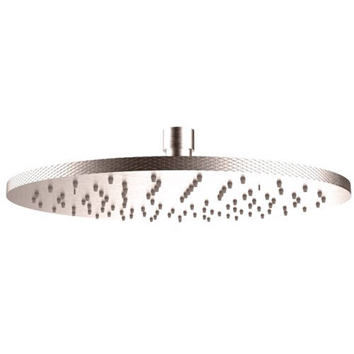 Additional image for Round Shower Head 250mm (Brushed Nickel).