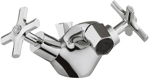 Additional image for Bidet Mixer Tap With Crosshead Handles.